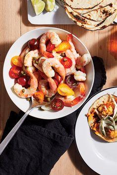 Marinated Shrimp Steamed Shrimp, Marinated Shrimp, Grilled Shrimp, Shrimp Recipes, Salad Recipes, Cooking Recipes, Healthy Recipes, Yummy Recipes, Healthy Food
