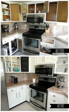 Brilliant Builderjohn Bynum Strikes Again With His Surprise Enchanting Paint Inside Kitchen Cabinets Decorating Inspiration