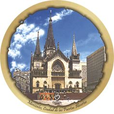 Catedral de Manizales Barcelona Cathedral, Decoupage, Building, Travel, House Art, Roof Tiles, Impressionism, Tourism, Colombia
