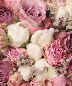 Flowers Bouquet Roses Shabby Chic 49 Ideas For 2019 Love Rose, My Flower, Fresh Flowers, Pretty Flowers, Pink Flowers, Pastel Roses, Summer Flowers, Cut Flowers, Dried Flowers