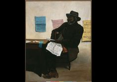 Brother Gardner - ca. 1881 Oil on Canvas from the Barnett Aden Collection