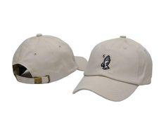 "Mens / Womens October's Very Own Drake 6 God Pray ""Dad Hat"" 6 Panel Fashion Strap Back Adjustable Cap - White"