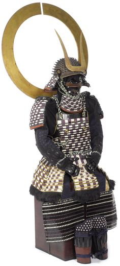 Edo Period Armor with Large Sashimono « Samurai Sword Shop Info Center