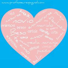 El vocabulario del amor en español