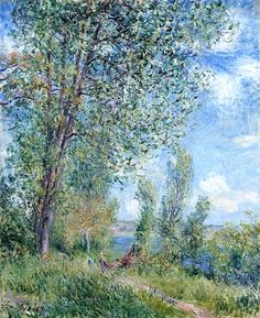 Windy Afternoon in May Alfred Sisley - circa 1880