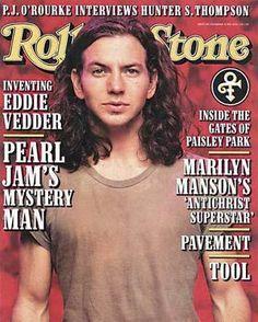 Eddie Vedder - Rolling Stone Magazine [United States] (28 November 1996)