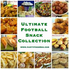 Ultimate Football Snack Collection by www.PartyFood2Go.com
