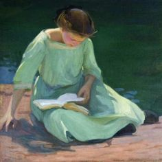 Women Reading - simena: Eleanor Ruth Colburn
