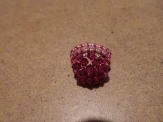 Swarovski gyűrű Druzy Ring, Heart Ring, Rings, Jewelry, Jewlery, Bijoux, Schmuck, Heart Rings, Jewerly