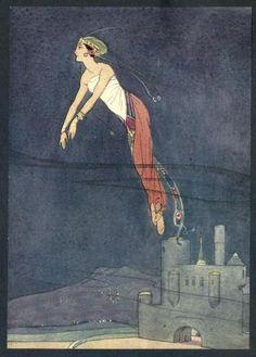 The Arabian nights (1900)  Illustrations by Soper    The Princess Jehaunara