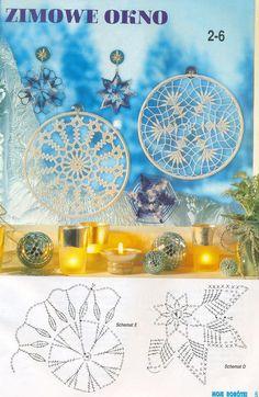 """Photo from album """"Moje robotki on Yandex. Crochet Snowflake Pattern, Crochet Stars, Crochet Snowflakes, Doily Patterns, Thread Crochet, Crochet Motif, Crochet Doilies, Crochet Patterns, Yarn Crafts"""
