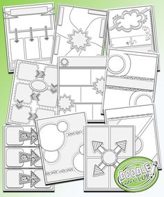 Templates to make your own doodle notes for your classroom - Doodle Note Club