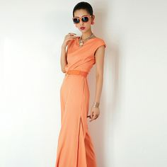 Slim Fit Fashion Cut-Out Backless Sleeveless Jumpsuit For Women
