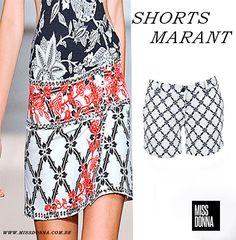 Shorts estampa Isabel Marant