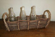 Primitive Twig Basket by NostalgicNuance on Etsy,