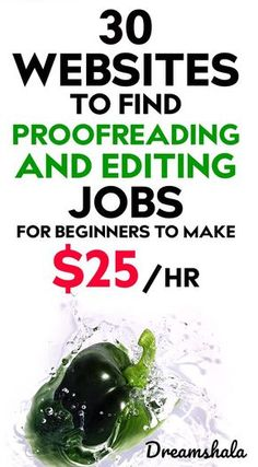 30 Websites To Find Freelance Editing And Proofreading Jobs - Dreamshala Ways To Earn Money, Earn Money From Home, Earn Money Online, Online Jobs, Way To Make Money, Win Online, Money Now, Selling Online, Legit Work From Home