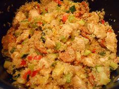 Chicken Andouille Quinoa Jambalaya- Body for Life!