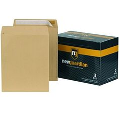 New Guardian Envelopes Heavyweight Pocket Peel and Seal Window Manilla Pocket Envelopes, Desk Mat, Easy Peel, Open Window, Seal, Office Supplies, Products, Gadget, Harbor Seal