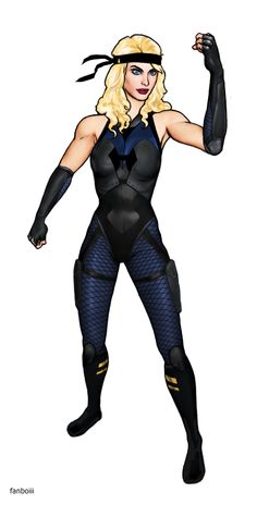 Black Canary - DC New 52 Remake Character Design by fanboiii on DeviantArt Comic Character, Character Design, Dc Comics, Dinah Laurel Lance, Team Arrow, New 52, Black Canary, Hero Arts, Costumes