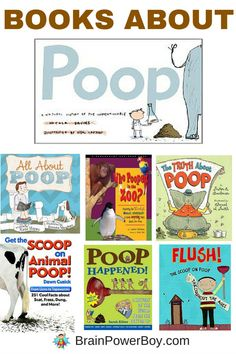 Who knew there were so many good books about poop?! We found eleven books that are great for learning about all things poop - and they don't stink either. Click to see the list.
