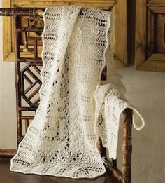 Estonian Lace Shawl by Nancy Bush, As Seen on Knitting Daily TV Episode 211 - Media - Knitting Daily
