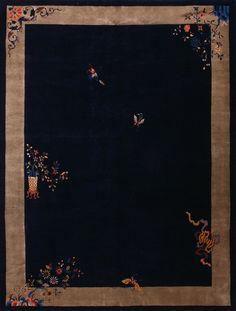 """Chinese - Art Deco   /  11'  10""""  x  9'  0"""""""