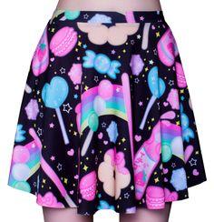 SNACK ATTACK! - Skater Skirt – pastelpixie