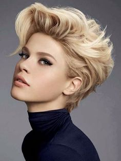 cool short hair female models - Google Search...