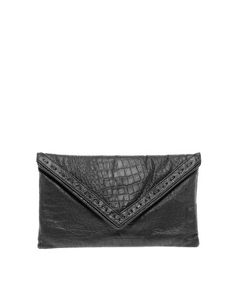 Enlarge Jocasi Leather Envelope Clutch Bag