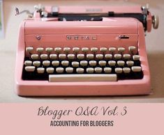 LEARN - Accounting For Bloggers