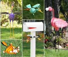 Exhart - Wholesale Garden Decor | GeekyBeeks, NerdyBirds, BabyBeeks, Splats, Tree Art, and more!