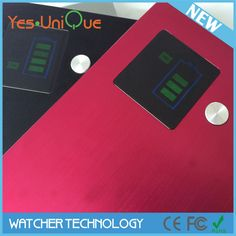 notebook power bank with led indication