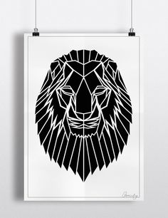 LION Black And White2