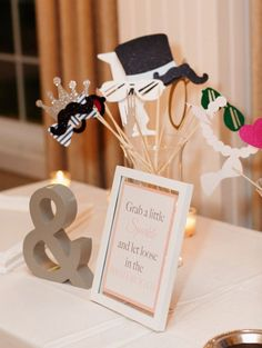 Team Wedding Blog 10 Funky Ways to Display Your Photobooth Props