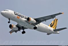 Airbus A320-232, Tigerair, 9V-TAF, cn 2728, 180 passengers, first flight 9.3.2006 (Tiger Airways), Tigerair delivered 3.7.2013. 3.6.2016 flight Krabi - Singapore. Foto: Jakarta, Indonesia, 18.1.2016.