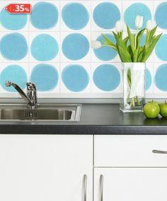 Adesivo para azulejo Manchas2