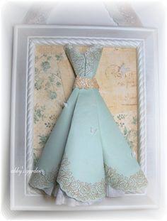 Gorgeous paper dress