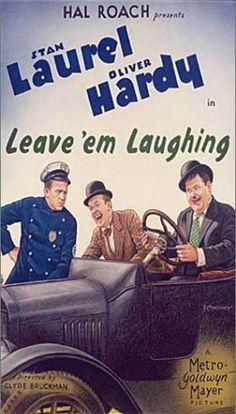 Leave 'Em Laughing. 1928