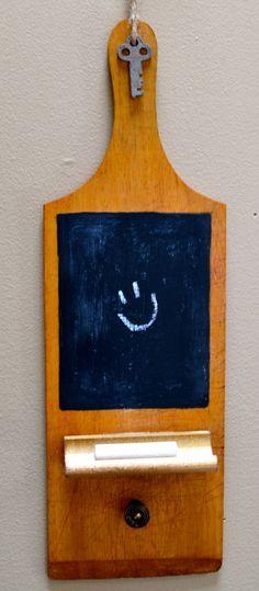 Mini Chalkboard Memo Board. $15.00, via Etsy.