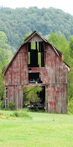 Old, Abandoned and Forgotten Barns....I would love to know their history...
