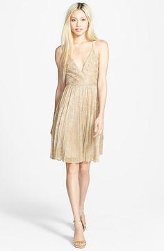 Sam Edelman Pleat V-Neck Dress available at #Nordstrom