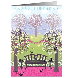 Misty Park - Frillybee Lovely Birthday Card design!