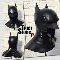 Batman Armored New 52 inspired cowl / mask for by TigerStoneFX