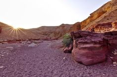 Red Canyon, Israel