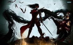 Alucard in einer halben Ritterrüstung Hellsing Alucard, Anime Art Fantasy, Fantasy Artwork, Iida, Vampire Hunter, Demon King, Creatures Of The Night, Anime Love, Les Oeuvres