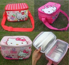 Hello Kitty Thermal Lunch Box //Price: $16.99 & FREE Shipping // World of Hello Kitty http://worldofhellokitty.com/retail-hello-kitty-thermal-printing-lunch-box-bag-insulated-cooler-bag-picnic-dining-travel-tote-bag-freeshipping/    #collectibles