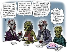 The only thing worse than zombies is pretentious zombies.
