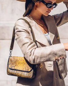 Snakeskin: The New Trend Everyone Is Wearing on Instagram | Who What Wear