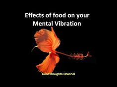 Abraham Hicks  Effects of food on your Mental Vibration