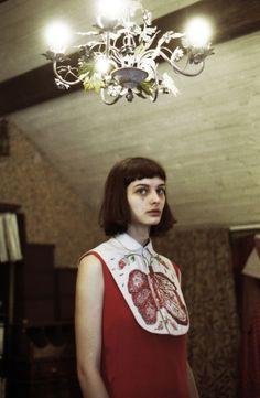 Ksenia Nazarenko for Omut Naive Capsule Collection by Nastya Klimova & Liza Smirnova